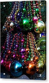 Colorful Baubles Acrylic Print by Christopher Holmes