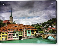 Colorful Bern Switzerland  Acrylic Print