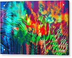 Colorful Bold Abstract Acrylic Print