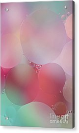 Colorful Bubbles 2 Acrylic Print by Elena Nosyreva