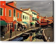 Colorful Burano Acrylic Print