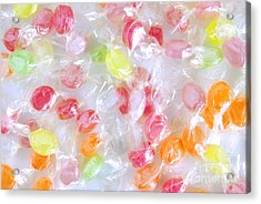Colorful Candies Acrylic Print by Carlos Caetano