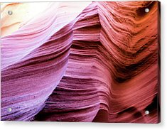 Acrylic Print featuring the photograph Colorful Canyon by Stephen Holst