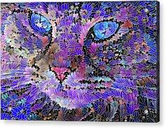 Flower Cat 2 Acrylic Print