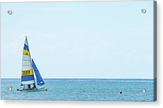 Colorful Catamaran 3 Delray Beach Florida Acrylic Print