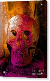 Colorful Character Acrylic Print by Valerie Fuqua