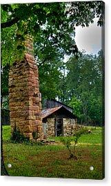 Colorful Chimney Acrylic Print by Douglas Barnett