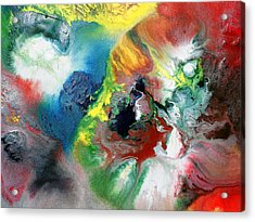 Colorful Cloud Acrylic Print by Sumit Mehndiratta
