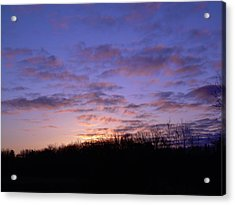 Colorful Clouds In The Sky Acrylic Print by Kent Lorentzen