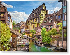 Colorful Colmar Acrylic Print