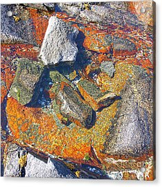Colorful Earth History Acrylic Print by Heiko Koehrer-Wagner