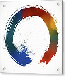 Colorful Enso Acrylic Print