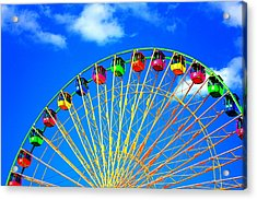 Colorful Ferris Wheel Acrylic Print