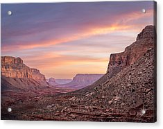 Colorful Havasupai Hike Acrylic Print by Serge Skiba