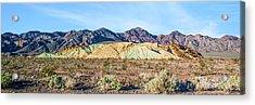 Colorful Hills Acrylic Print