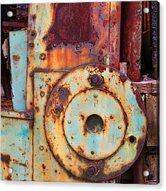 Colorful Industrial Plates Acrylic Print