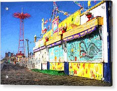 Colorful Acrylic Print by JC Findley