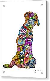 Labradorable Acrylic Print