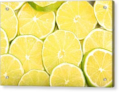 Colorful Limes Acrylic Print by James BO  Insogna