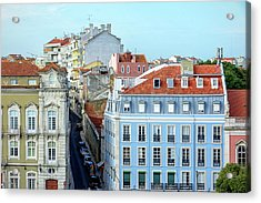 Acrylic Print featuring the photograph Colorful Lisbon by Marion McCristall