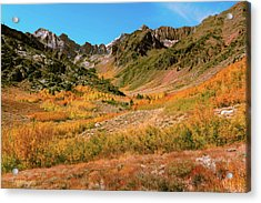 Colorful Mcgee Creek Valley Acrylic Print