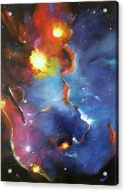 Colorful Nebula Acrylic Print