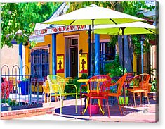 Colorful Old Town 2 Acrylic Print