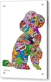 Poodle-icious Acrylic Print