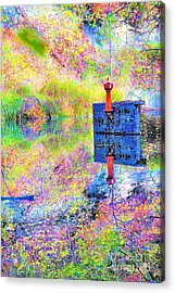Colorful Reflections Acrylic Print