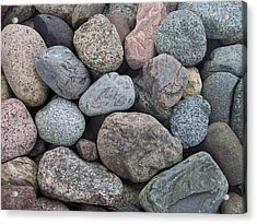 Acrylic Print featuring the photograph Colorful Rocks by Richard Bryce and Family