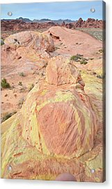 Acrylic Print featuring the photograph Colorful Sandstone In North Valley Of Fire by Ray Mathis