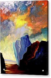 Colorful Scape Acrylic Print by Joe Santana