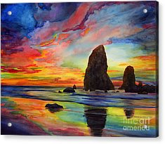 Colorful Solitude Acrylic Print
