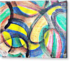 Colorful Soul Acrylic Print