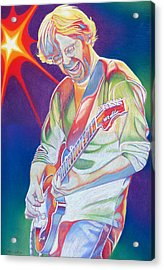 Colorful Trey Anastasio Acrylic Print