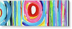 Colorful Uprising 6- Art By Linda Woods Acrylic Print