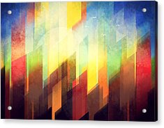 Colorful Urban Design Acrylic Print