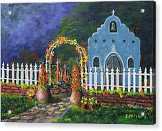 Colorful Welcome Acrylic Print