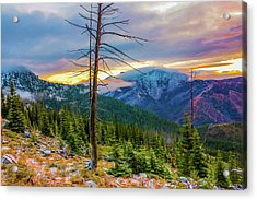 Colorfull Morning Acrylic Print