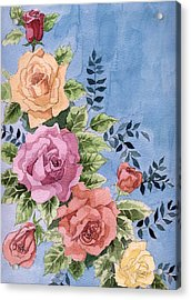 Colorfull Roses Acrylic Print