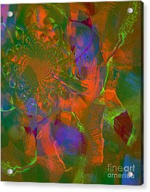 Coloring Art For The Living Acrylic Print