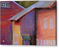 Colors And Shadows Acrylic Print by Dona Mara