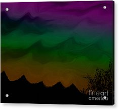Colors At Dusk2 Acrylic Print
