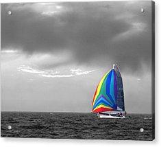 Colors Acrylic Print by Elizabeth Reynders