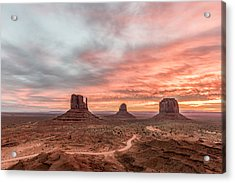 Colors In Monument Acrylic Print