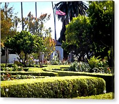 Acrylic Print featuring the photograph Colors In The Garden by Glenn McCarthy Art and Photography