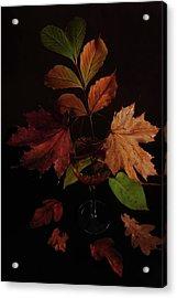 Colors In The Glass Acrylic Print by Randi Grace Nilsberg