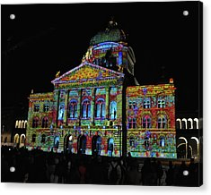 Colors Of Bern Acrylic Print