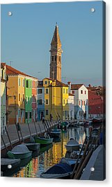 Colors Of Burano 1 Acrylic Print by Art Ferrier