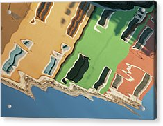 Colors Of Burano 2 Acrylic Print by Art Ferrier